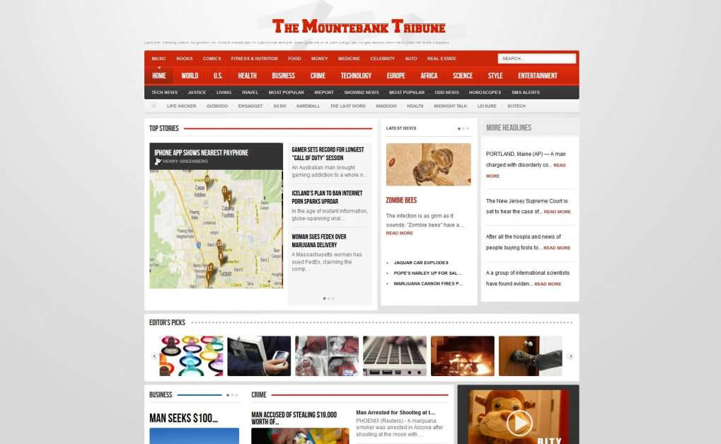 Mountebank Tribune